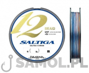 Plecionka Daiwa Saltiga 12 Braid Multicolor 300m