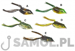 Przynęta gumowa Jaxon Magic Fish Frog 2 - 4cm