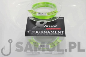 PLECIONKA DAIWA TOURNAMENT 8 BRAID CHARTREUSE 300M