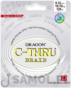 PLECIONKA DRAGON C-THRU BRAID 125M